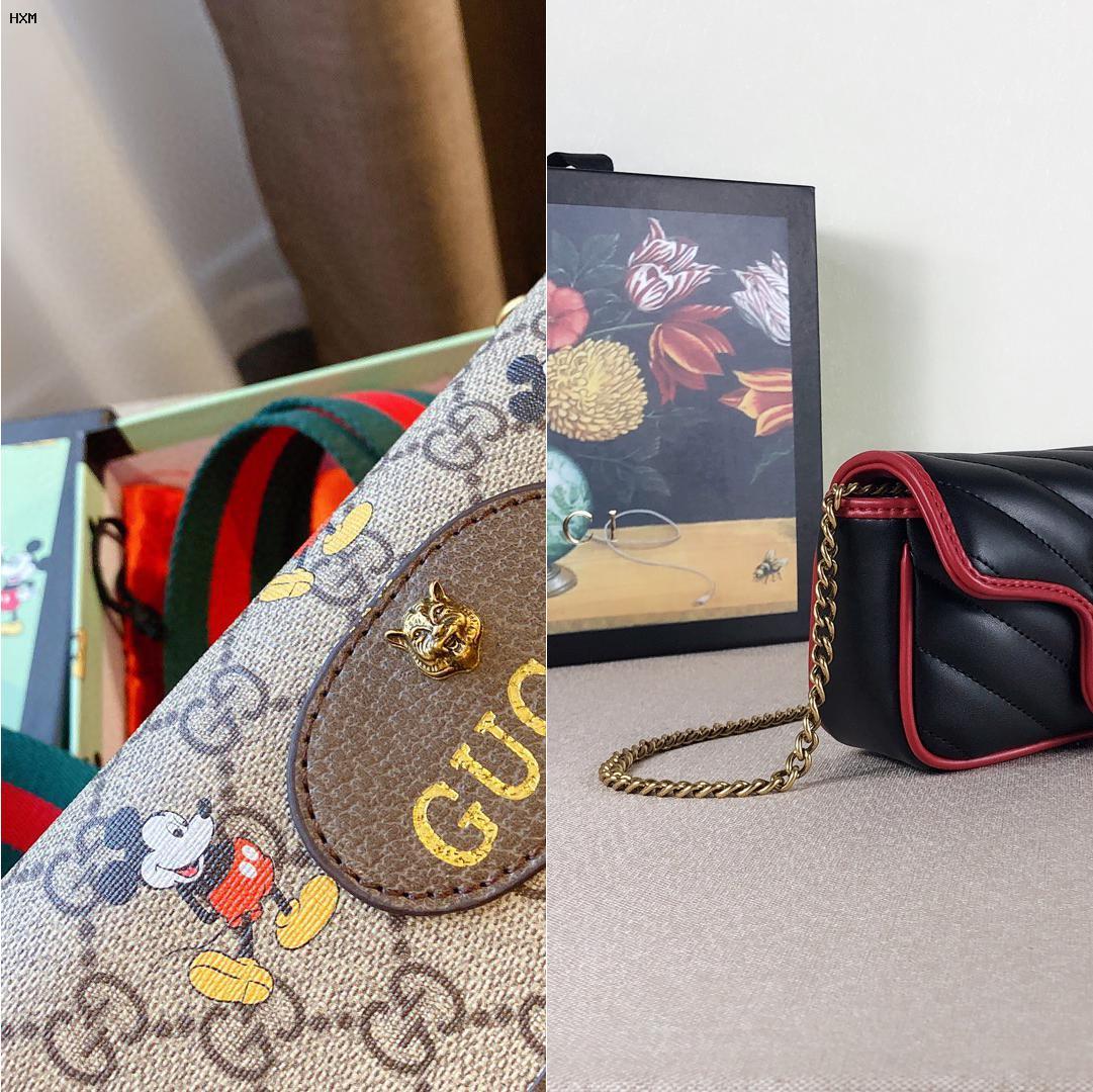 bolso gucci negro imitacion